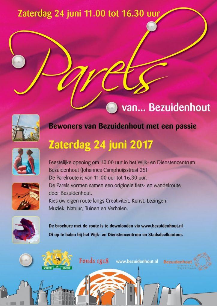 Poster Parels van Bezuidenhout 2017