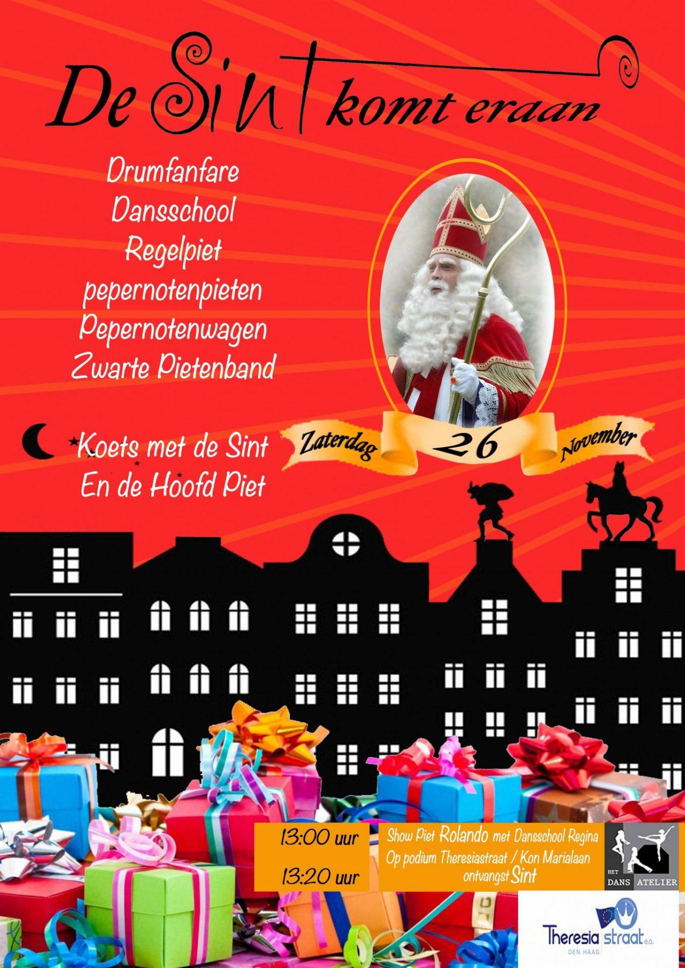 Intocht Van De Sint Op 26 November In Bezuidenhout Bezuidenhout Nl