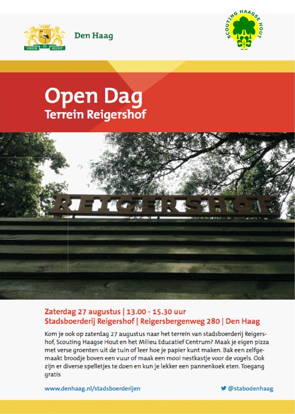 open dag Reigershof augustus 2016