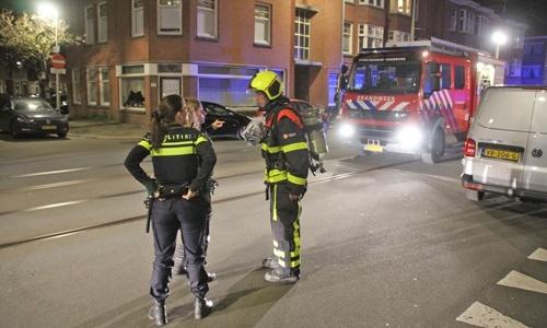 Brandstichting in de Loudonstraat, politie zoekt getuigen
