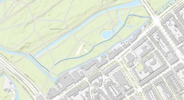 Wandelpad verandert in fietspad in het Haagse Bos
